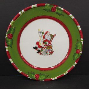 Christopher Radko Letters To Santa In Chair Plate